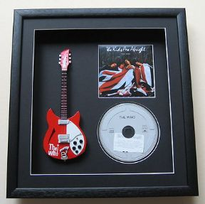 THE WHO - The Kids Are Alright  CD & MINIATURE GUITAR